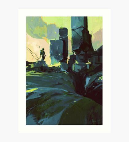 Explorer II Art Print