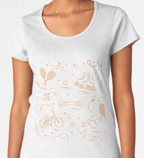 Equipment for sports activities for children. Women's Premium T-Shirt