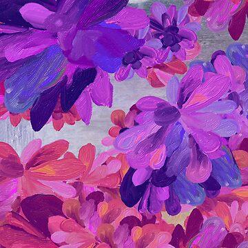 purple garden by mariannat