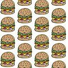 Hamburger pattern by Dewychan