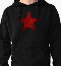 Red Star of the Winter Soldier Pullover Hoodie