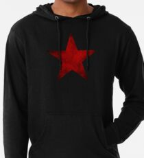 Red Star of the Winter Soldier Lightweight Hoodie