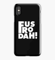 Skyrim Inspired Quote Design iPhone Case/Skin