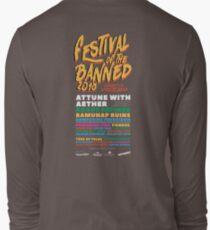 Festival of the Banned 2018 - Dark Theme Long Sleeve T-Shirt