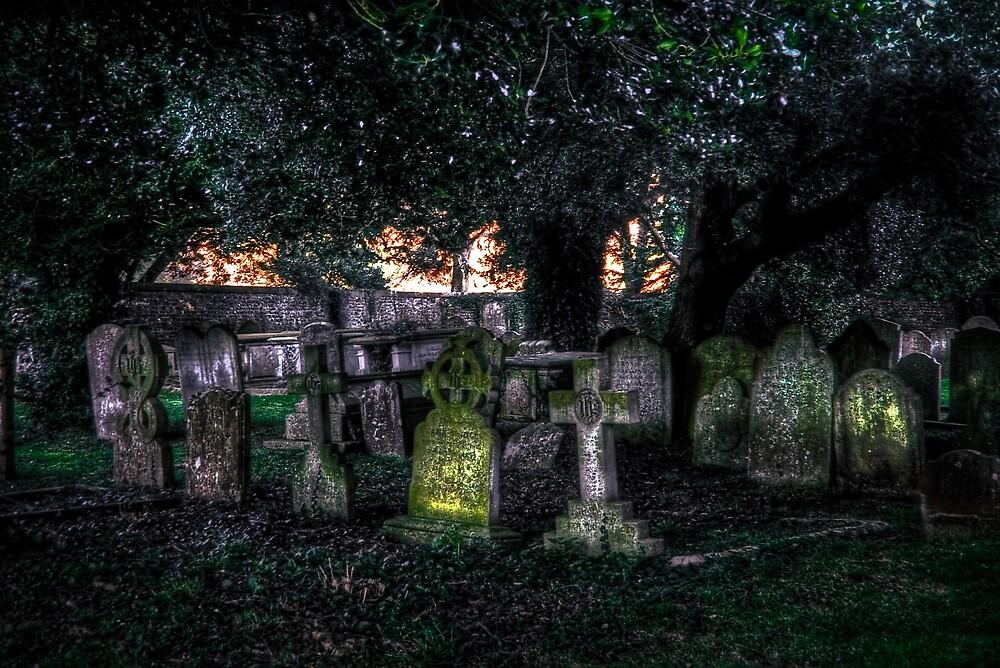 Arundel Graveyard by Greg Roberts