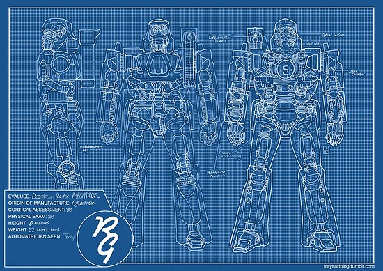 Transformers megatron blueprint posters by professorfates redbubble transformers megatron blueprint by professorfates malvernweather Gallery
