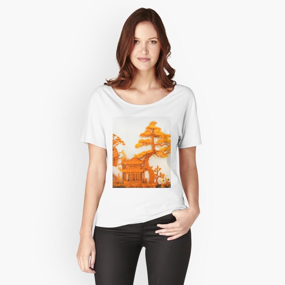 cork work Women's Relaxed Fit T-Shirt Front