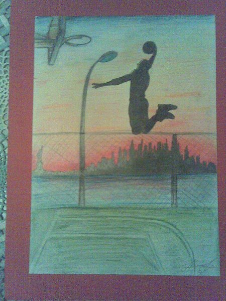 basketball by Siim Hanikat