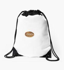 can i get a waffle? Drawstring Bag