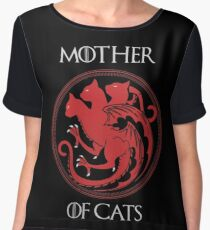 Mother of Cats Chiffon Top