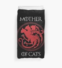 Mother of Cats Duvet Cover