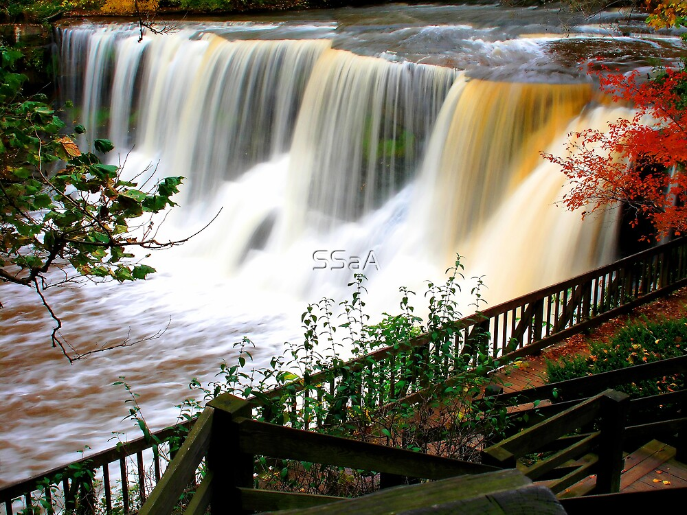 Chagrin Falls - Ohio by SSaA