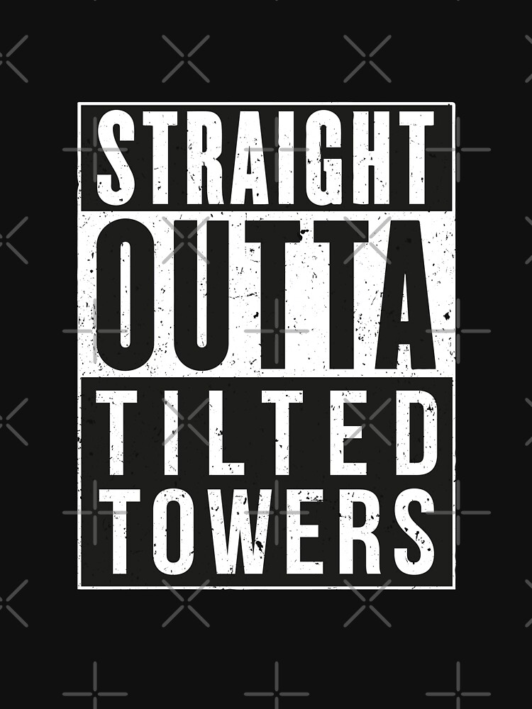 Fortnite Battle Royale Straight Outta Tilted Towers Unisex T Shirt