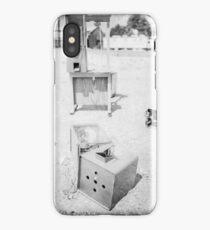Gumball Machine Destruction in BW iPhone Case