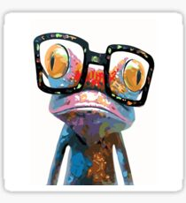 Geeky Toad Sticker