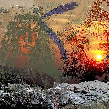 the Sioux Warrior by eggerist