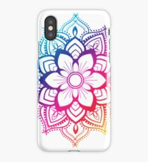 Warm Mandala iPhone Case