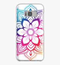 Warm Mandala Samsung Galaxy Case/Skin