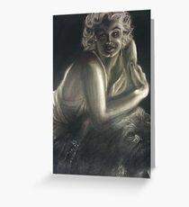 20's Woman Greeting Card