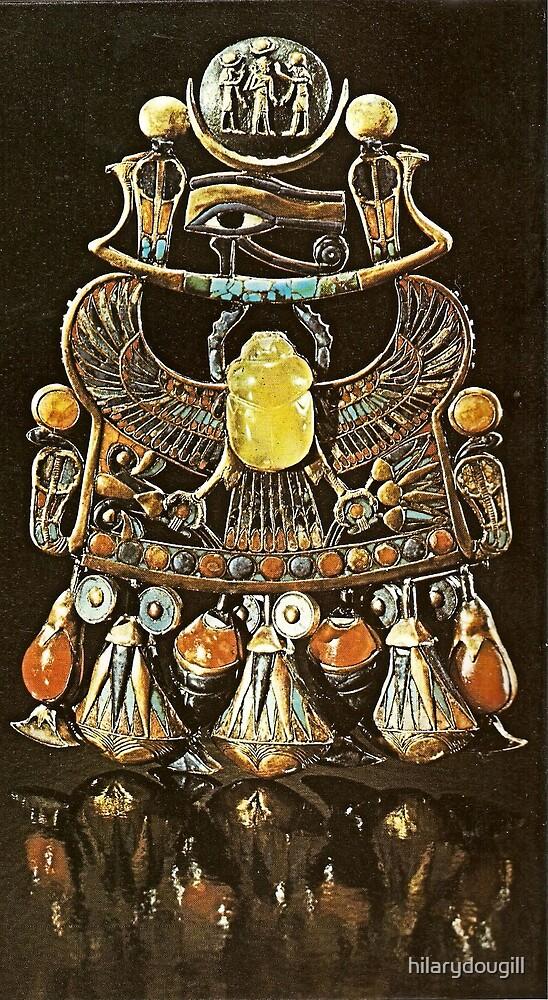 Sun God Pendant Amulet by hilarydougill