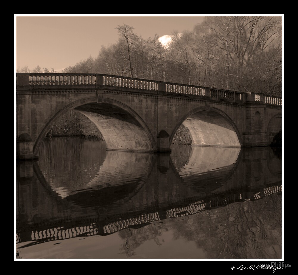 Holey Reflections by Lee Phillips