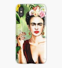 Frida Kahlo Jungle Painting  iPhone Case
