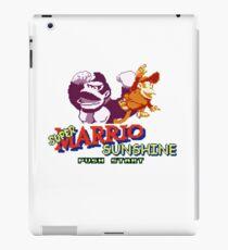 Super Marrio Sunshine iPad Case/Skin