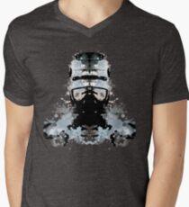 Rorschach Robocop Men's V-Neck T-Shirt