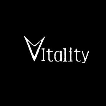 Full Vitality Logo (Black)  by Garrettj1091