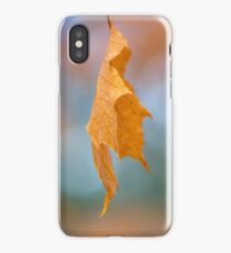 A single Leaf of gold iPhone Case/Skin