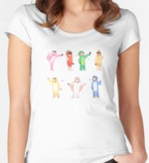 BTS 4TH MUSTER: GROUP Women's Fitted Scoop T-Shirt