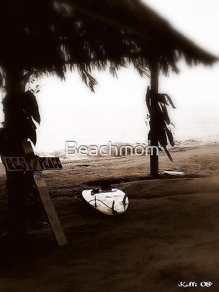 Beach condolence card by Beachmom