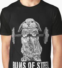 Buns of Steel (Dark) Graphic T-Shirt