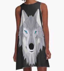 Timber Wolf A-Line Dress