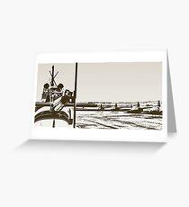 locusts Greeting Card