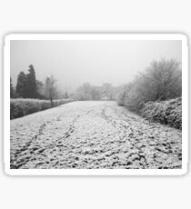 Winter idyll Sticker