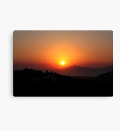 Zia Sunset Canvas Print