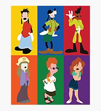 goofy movie characters Photographic Print