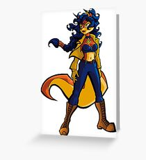 I'll be seeing you soon, ringtail! Greeting Card