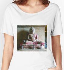 Buddha, Bagan, Myanmar Women's Relaxed Fit T-Shirt