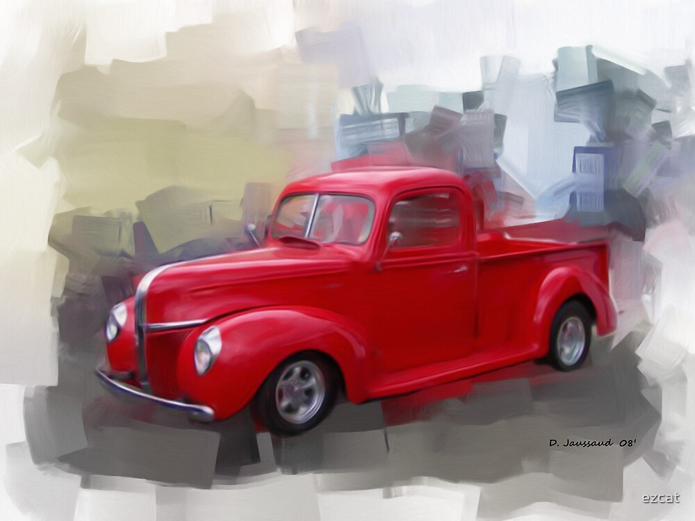 Red 41' Ford by ezcat