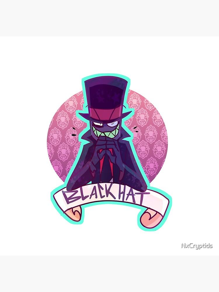 Sombrero negro de NxCryptids