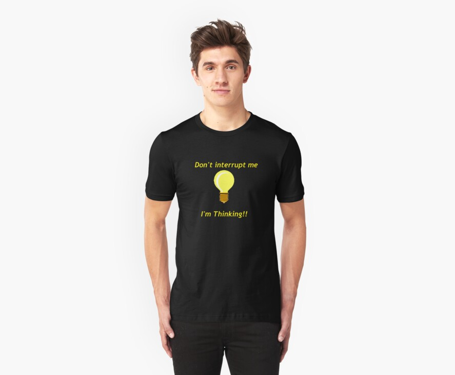 Thinking Light Bulb by 1CrazyDJ