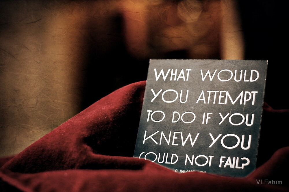 Success is never final. Failure is never fatal. by VLFatum