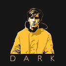 Dark Jonas Negative Portrait by aartmoore