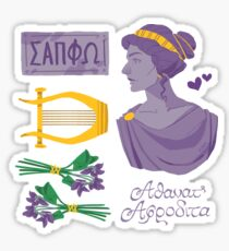 Sappho Set Sticker