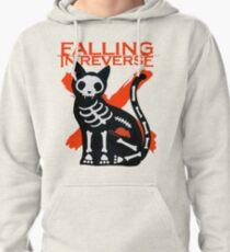 Falling In Reverse - Skeleton Cat Pullover Hoodie