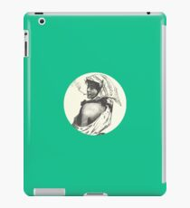 Fierce cigarillo lady iPad Case/Skin