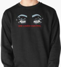 Sie liebt Kontrollaugen Sweatshirt