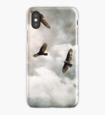Circling Vultures iPhone Case/Skin